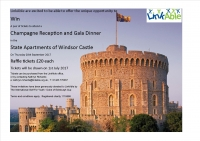 The chance to win two tickets to dine at Windsor Castle State Apartments